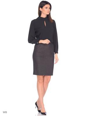 Блузка SARTORI DODICI. Цвет: черный