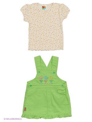 Сарафан DAMY-M. Цвет: зеленый