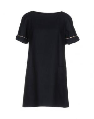 Короткое платье AQUASCUTUM. Цвет: темно-синий