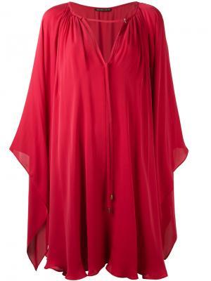 Платье-накидка Plein Sud. Цвет: розовый и фиолетовый