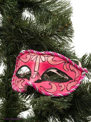 Карнавальная маска Magic Time. Цвет: розовый