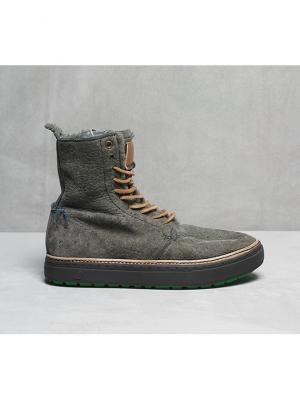 Ботинки Satorisan. Цвет: серый