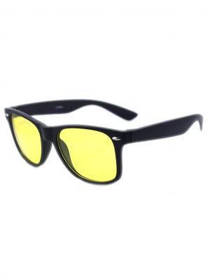 Солнцезащитные очки Leya.. Цвет: черный, желтый