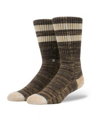Носки OBSIDIAN (FW17) Stance. Цвет: темно-коричневый