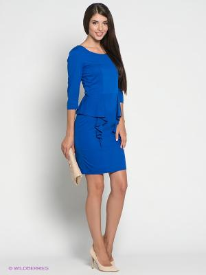 Платье Colambetta. Цвет: синий