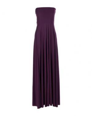 Длинное платье VON VONNI. Цвет: фиолетовый