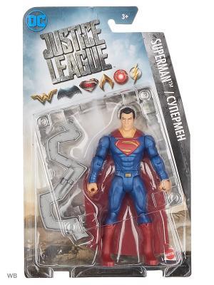 Лига Справедливости (фильм): фигурки 6 дюймов в ассортименте Mattel. Цвет: антрацитовый