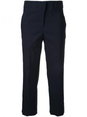 Укороченные брюки Lydia L.. Цвет: синий