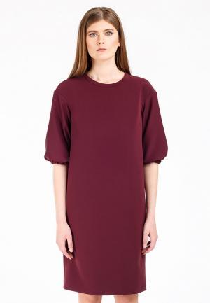 Платье Swank. Цвет: бордовый