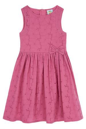 Платье Uttam kids. Цвет: розовый