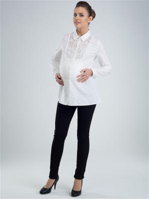 Блузка Budumamoy. Цвет: белый