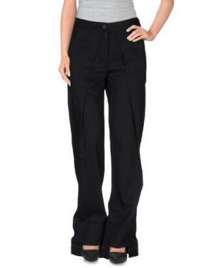 Повседневные брюки MARITHÉ + FRANÇOIS GIRBAUD. Цвет: черный