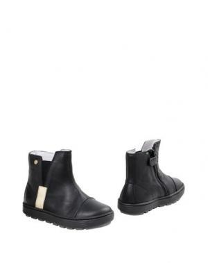 Полусапоги и высокие ботинки NATURINO. Цвет: черный