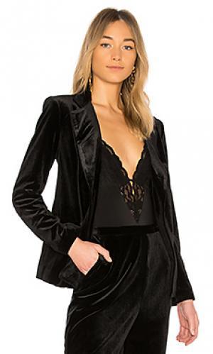 Вельветовая куртка trail blazer Yumi Kim. Цвет: черный