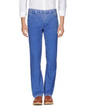 Повседневные брюки JAGGY. Цвет: синий