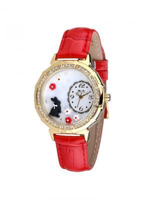 Наручные часы MN2018red Mini.. Цвет: красный, золотистый