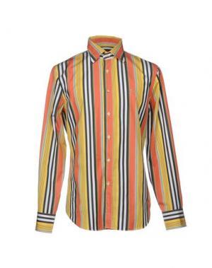 Pубашка 9.2 BY CARLO CHIONNA. Цвет: желтый