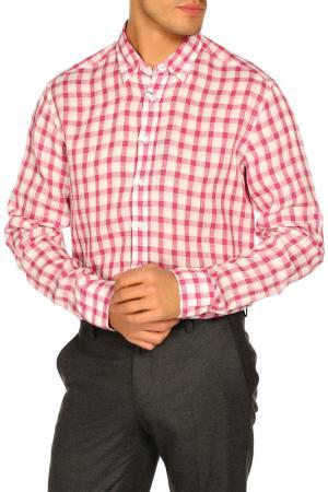 Рубашка Cacharel. Цвет: 850 белый, розовый