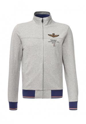 Олимпийка Aeronautica Militare. Цвет: серый