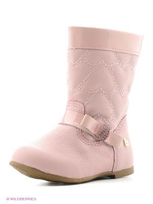 Сапоги Bibi. Цвет: бледно-розовый