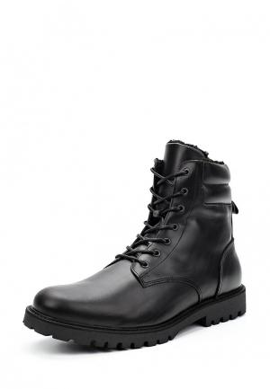 Ботинки Zign. Цвет: черный