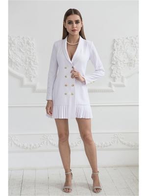 Палтье-пиджак с плиссировкой Self Made