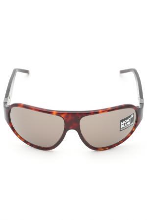 Очки солнцезащитные Montblanc. Цвет: 54j