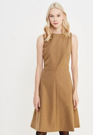 Платье Cocos. Цвет: бежевый