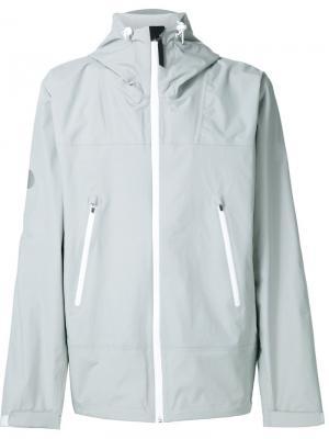 Куртка на молнии Saturdays Surf Nyc. Цвет: серый