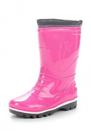 Резиновые сапоги Modis. Цвет: розовый