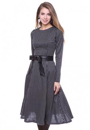 Платье Olivegrey. Цвет: черно-белый