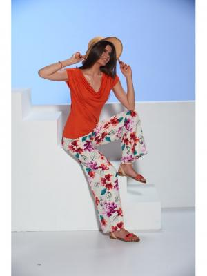 Комплект женский SEVIM. Цвет: оранжевый