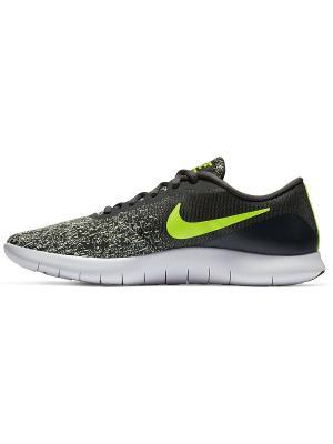 Кроссовки FLEX CONTACT Nike. Цвет: антрацитовый, желтый