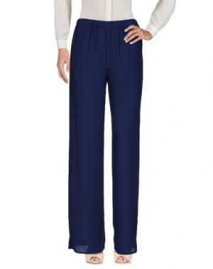Повседневные брюки ONELOVE. Цвет: темно-синий