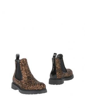 Полусапоги и высокие ботинки JARRETT. Цвет: бронзовый