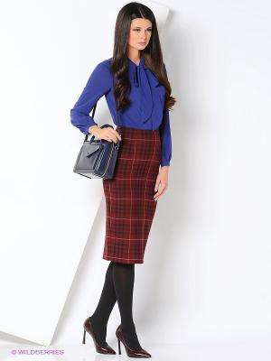 Блуза DEMURYA. Цвет: синий