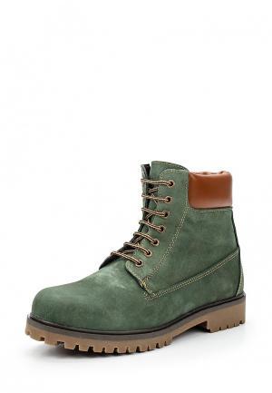 Ботинки Storm. Цвет: зеленый