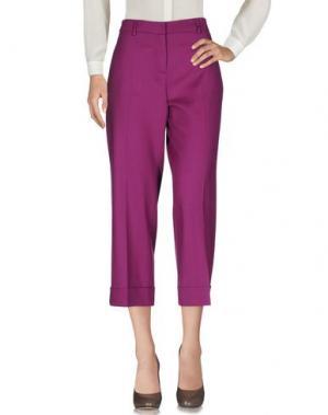 Повседневные брюки TRUE ROYAL. Цвет: розовато-лиловый