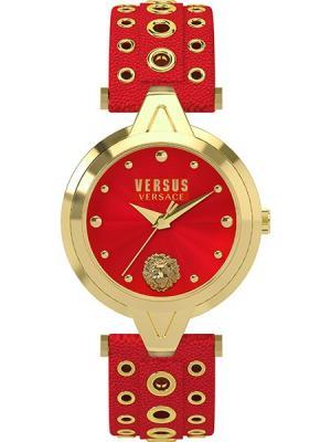 Часы VERSUS VERSACE. Цвет: красный