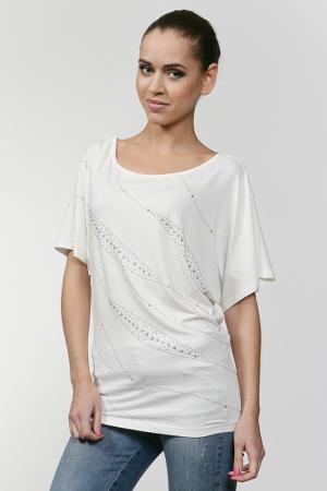 Блуза Nikibiki. Цвет: белый