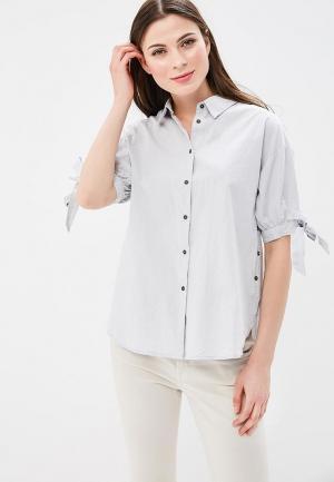 Рубашка Baon. Цвет: серый
