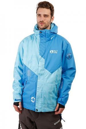 Куртка утепленная  Honey Blue/Ice Picture Organic. Цвет: синий,голубой
