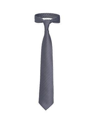 Классический галстук Каникулы в Риме диагональную полоску Signature A.P.. Цвет: темно-синий, белый