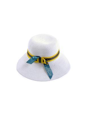 Шляпка Arc-en-ciel. Цвет: белый