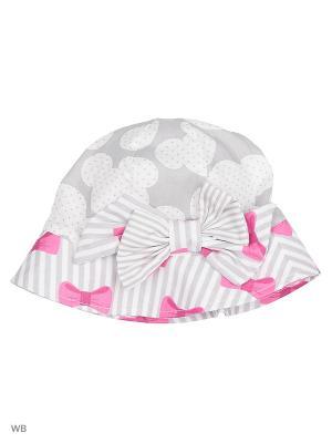 Панамы MARIELA. Цвет: светло-серый, белый, розовый
