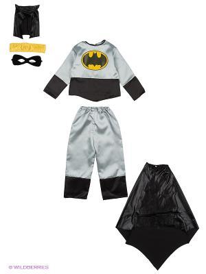 Карнавальный костюм Батик. Цвет: черный, серый