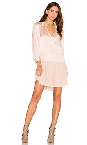 Платье nefertiti Flannel Australia. Цвет: румянец