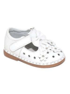 Туфли Капитошка.. Цвет: белый