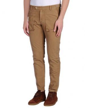 Повседневные брюки MOLO ELEVEN. Цвет: хаки