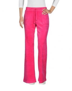 Повседневные брюки JUICY COUTURE. Цвет: фуксия